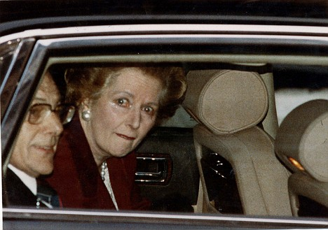 thatcher leaving