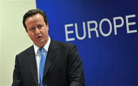 David Cameron - Europe
